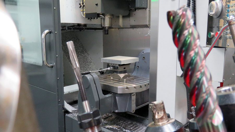 CNC 5 Axis Milling Jota Advanced Engineering